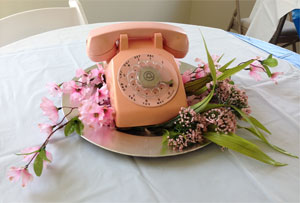 One of the centerpieces at The Telephone Museum's Grand Opening of the new Visitor Center held on May 15, 2014.*