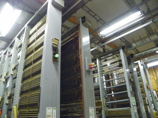 The #5 Crossbar System from Belfast, Maine now up and working at The Telephone Museum in Ellsworth.